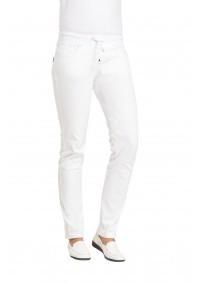 Damen-Halsbinde silbergrau Kunstfaser