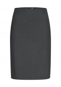 Damenkrawatte unifarben blau