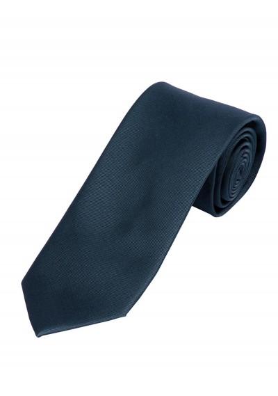 XXL-Krawatte in schwarz mit Satin-Optik
