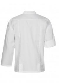 Dunkelblaue Krawatte breit gestreift