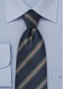 Seiden-Krawatte gewirkt himmelblau