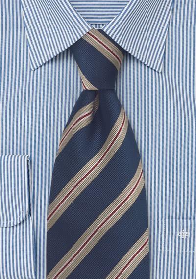 Einstecktuch rot Seide