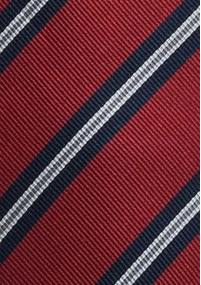 Krawatte mit silbernem Paisleymuster