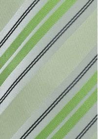 Streifen-Krawatte marineblau himmelblau...