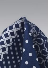 Stylische Krawatte blaugrün Mikrofaser