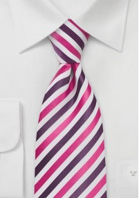 Pochette rot Tupfenmuster
