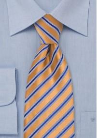 Krawatte Tiefschwarz Gittermuster