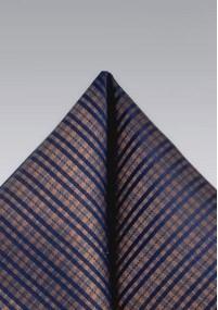 Stylische Kravatte Karo-Struktur blaugrün