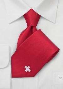 Einstecktuch silbergrau Poly-Faser
