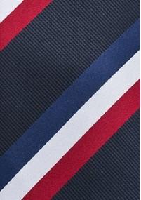 Krawatte einfarbig strukturiert Hellblau
