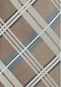 Krawatte blaugrün Rankenmuster