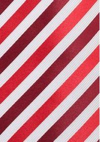 Herrenkrawatte Streifendesign grau