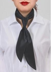 Krawatte blau gelb gestreift