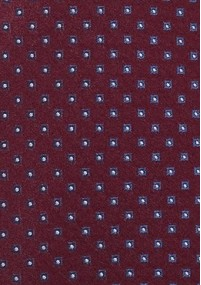 Krawatte Punkte-Quader dunkelgrau