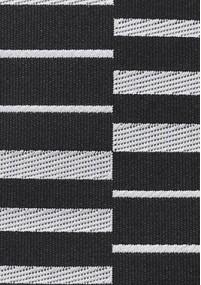 Krawatte Karo-Struktur schwarz