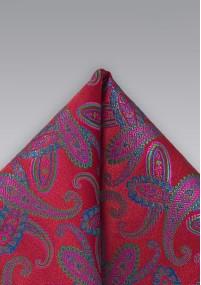 Businesskrawatte Streifen edelgrün Ton in Ton