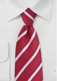 Krawatte Streifen weiß apfelgrün