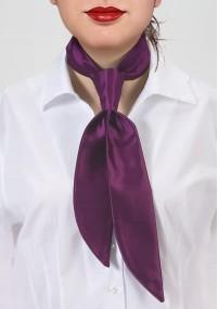 Kavaliertuch verspieltes Paisleymotiv orange