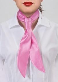 Krawatte einfarbig Kunstfaser pastellgelb