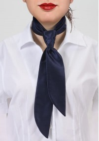Krawatte Rauten marineblau