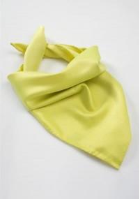 Kavaliertuch strukturiert gelb
