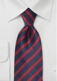 Modische Kravatte zartviolett Kunstfaser