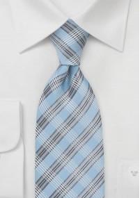 Mikrofaser Krawatte Streifenmuster grün