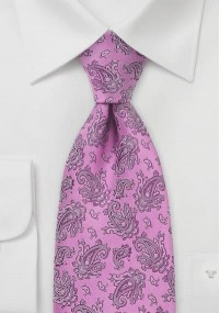 Perfekte Krawatte Paisleymuster lila...