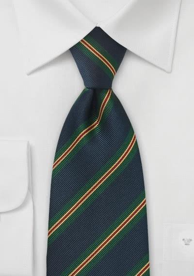 Krawatte Wolle Schottenkaro edelgrün
