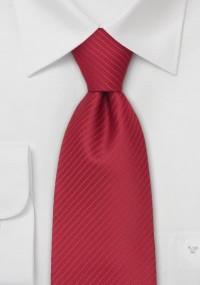Krawatte für Damen kupfer-orange Kunstfaser