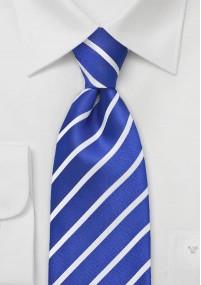 Ziertuch blaue Seide