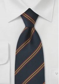 Orange Web-Einstecktuch