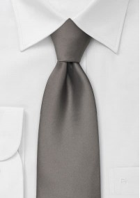 Krawatte Streifen dunkelblau orange