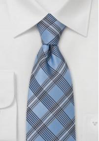 Kravatte Streifendesign marineblau