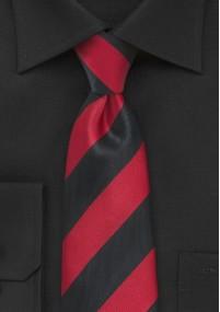 Krawatte Blümchenmuster navyblau