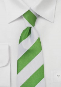 Krawatte Business-Streifen goldgelb navyblau
