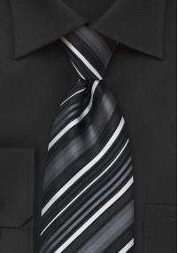 Kavaliertuch eisblau Linien