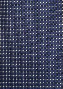 Krawatte orange Gittermuster
