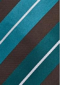 Einstecktuch Ranken-Dekor ultramarinblau...