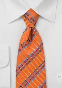 bordeauxfarbene XXL-Krawatte mit kleinen...