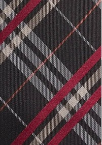 Krawatte Baumwolle Streifendesign hellblau