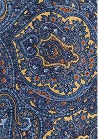 Krawatte  fein texturiert koralle