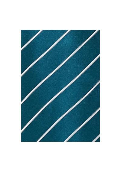 Businesskrawatte Streifenstruktur violett