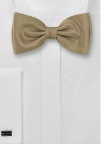Kravatte monochrom Kunstfaser orange