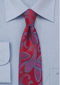 Halstuch Seide blau