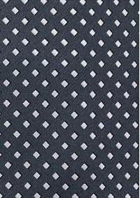 Krawatte Punkte-Muster königsblau champagner
