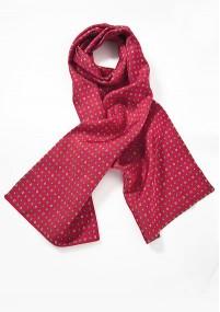 Damen-Halsbinde dunkelblau unifarben