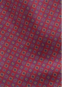 Herrenkrawatte rauhe Oberfläche rosa