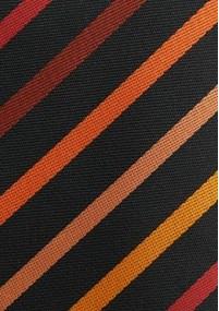Krawatte Streifenmuster filigran...