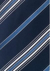 Herrenkrawatte einfarbig eisblau